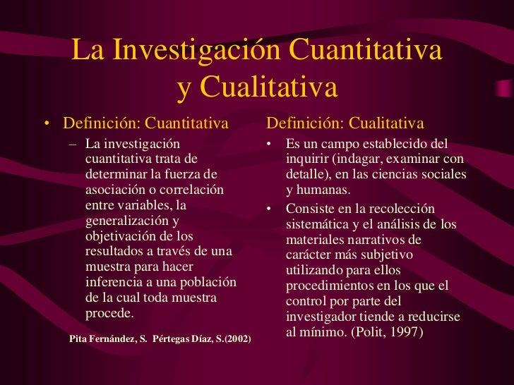 La InvestigacióN Cuantitativa Slide 2