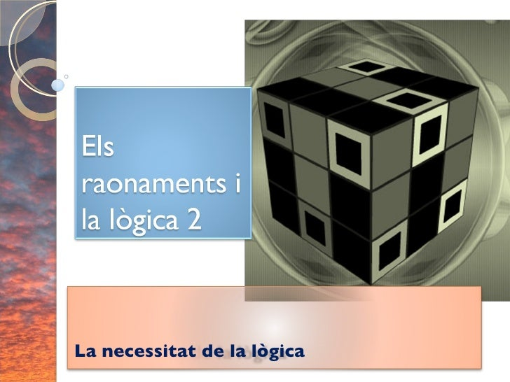 La necessitat de la lògica