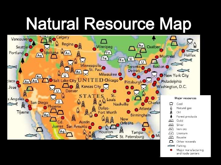Map Of Natural Resources In Illinois