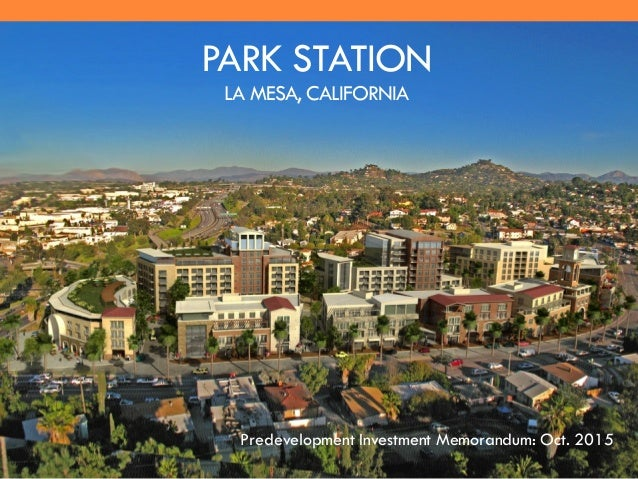 park station la mesa hotel senior living and residential retail
