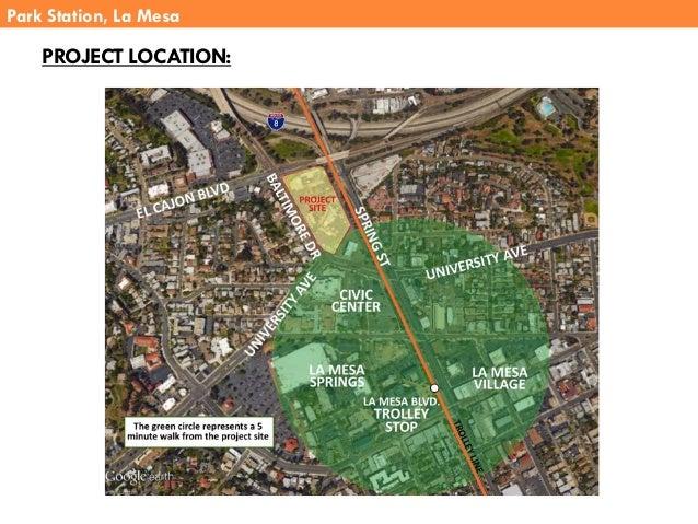 Park Station, La Mesa PROJECT LOCATION: