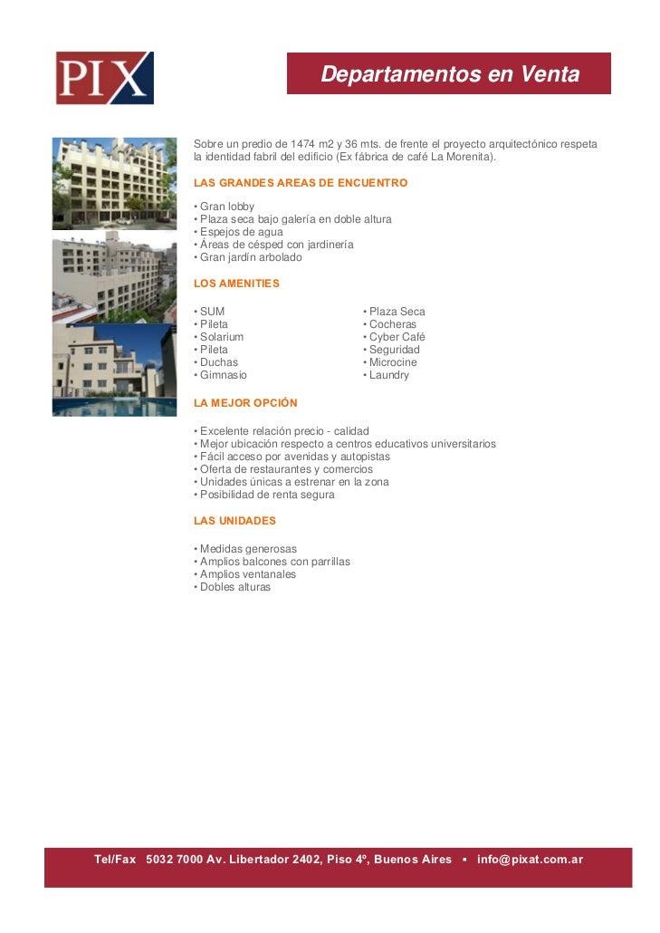 Departamentos en Venta                Sobre un predio de 1474 m2 y 36 mts. de frente el proyecto arquitectónico respeta   ...