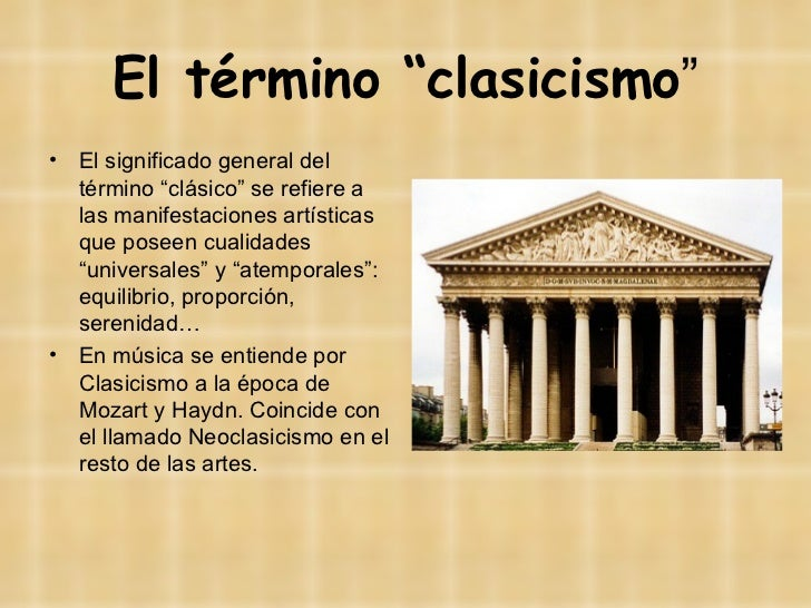 La música instrumental en el Clasicismo Slide 2