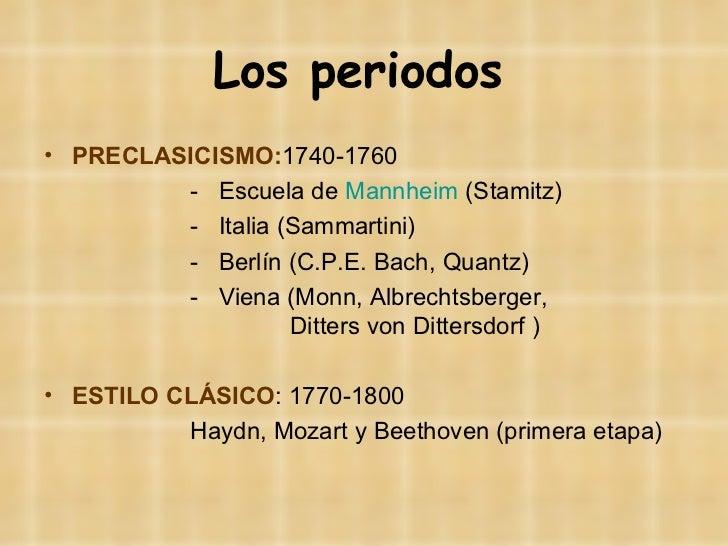 La música instrumental en el Clasicismo Slide 3