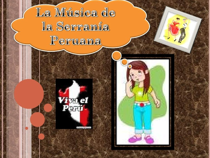 HISTORIA DE LA         MÚSICA ANDINA    A lo largo de los andes peruanos en cada pueblo, existe una gran variedad de cant...