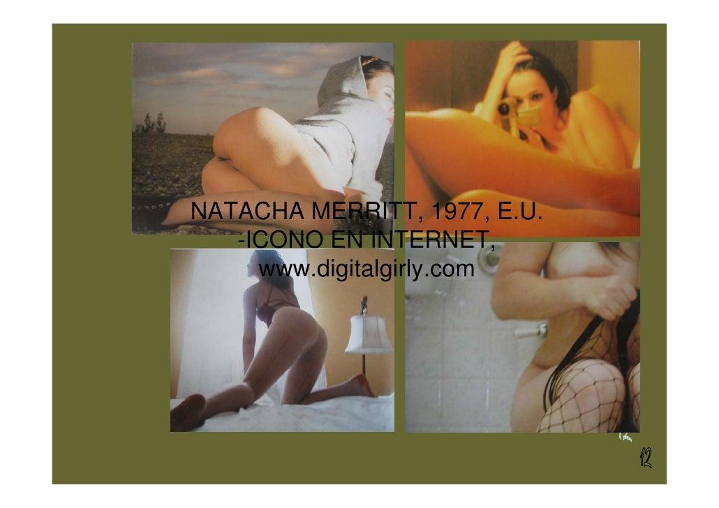 NATACHA MERRITT, 1977, E.U.    -ICONO EN INTERNET,      www.digitalgirly.com