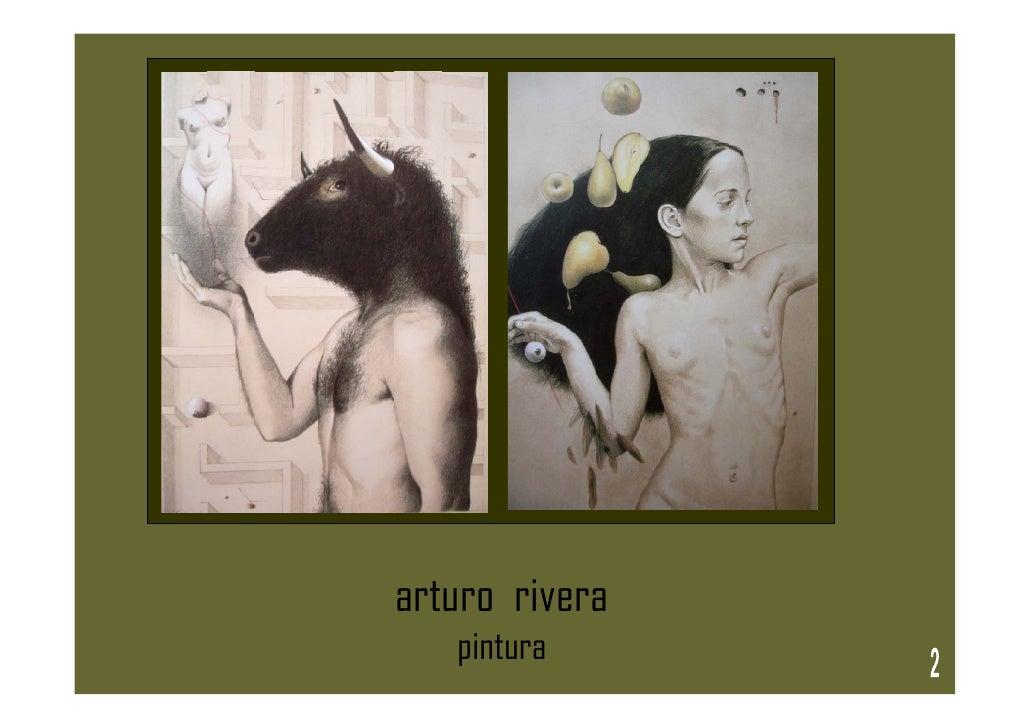 arturo rivera    pintura
