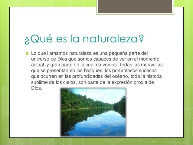 La naturaleza Slide 2
