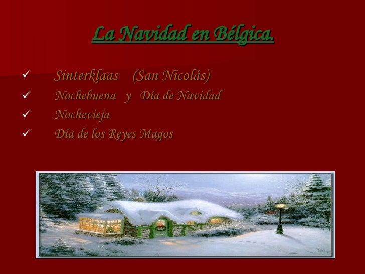 La Navidad En BéLgica por Tessa Van Beneden Slide 2