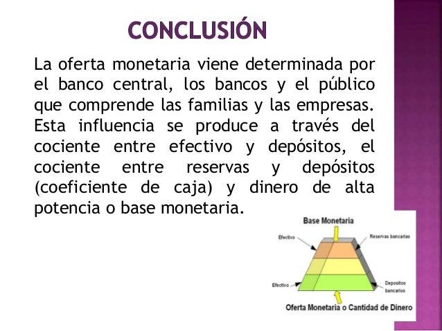 La oferta-monetaria