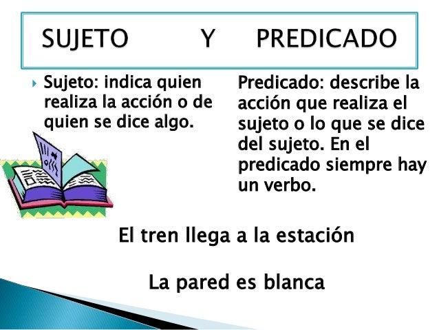 """Clase No. 13 """"La Oración Y Sus Partes"""" Para 7 Mo Básico - Lessons - Tes  Teach"""