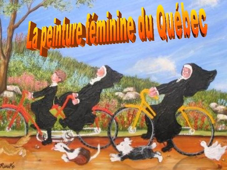 La peinture féminine du Québec