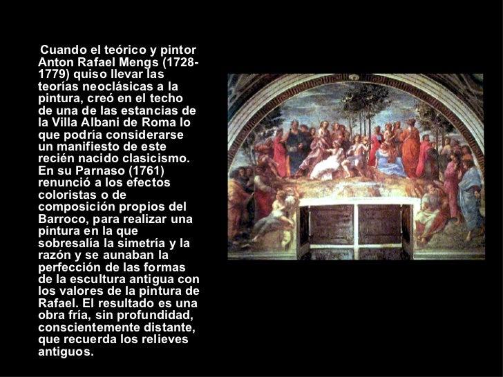 LA PINTURA NEOCLÁSICA Slide 2