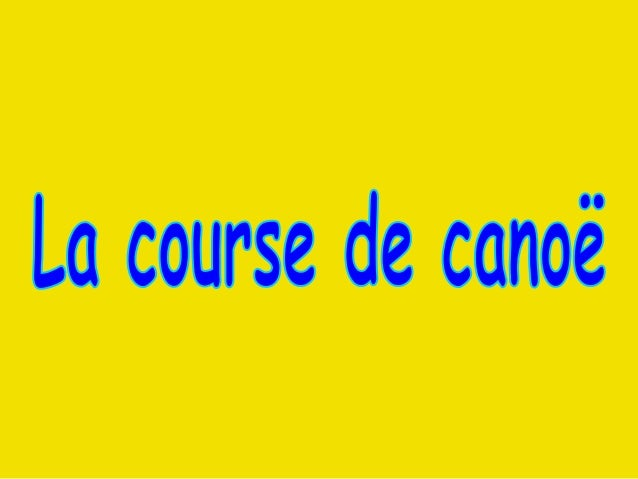 Il était une fois une équipe française de canoë sponsorisée par La Poste.