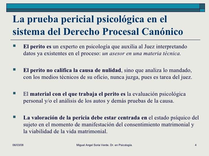 LA PSICOLOGÍA FORENSE EN EL DERECHO PROCESAL CANÓNICO