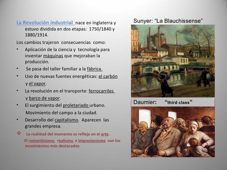 La Revolucion Industrial  Pintura Slide 2