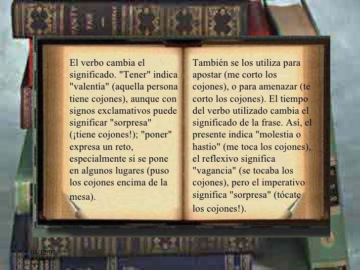 La riqueza del español Slide 3