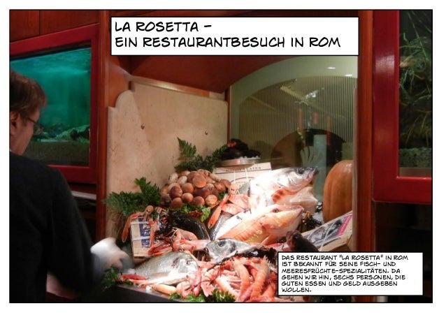"""La Rosetta -Ein Restaurantbesuch in Rom                   Das Restaurant """"La Rosetta"""" in Rom                   ist bekannt..."""