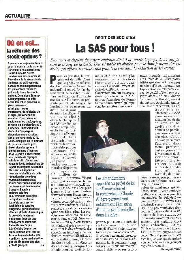 La SAS pour tous
