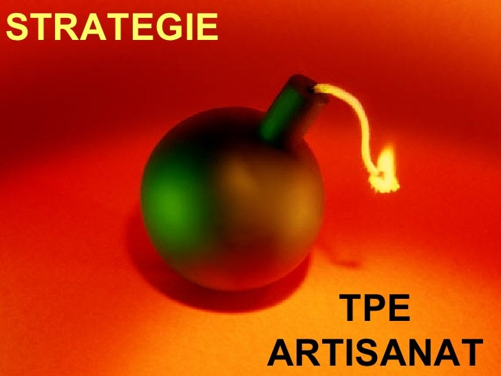 TPE ARTISANAT STRATEGIE