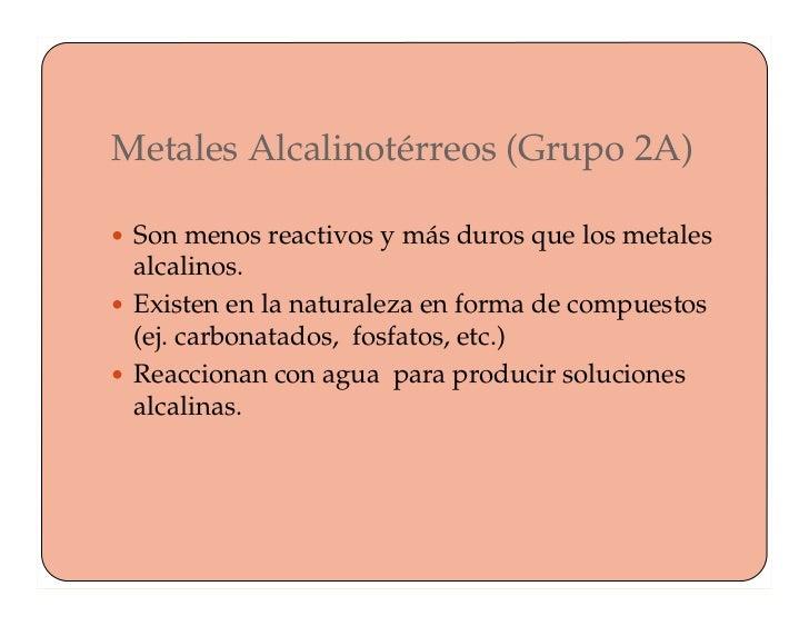 La tabla periodica metales alcalinotrreos urtaz Image collections