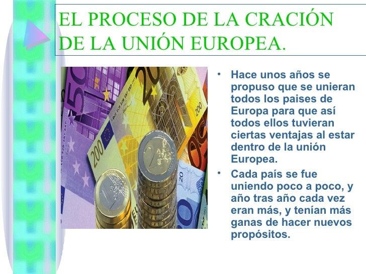 La UniÓN Europea Slide 2