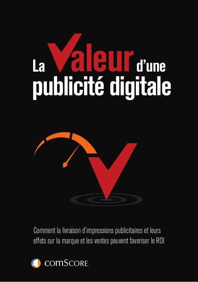 PAGE 1 Comment la livraison d'impressions publicitaires et leurs effets sur la marque et les ventes peuvent favoriser le R...