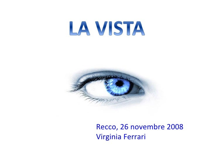 Recco, 26 novembre 2008 Virginia Ferrari