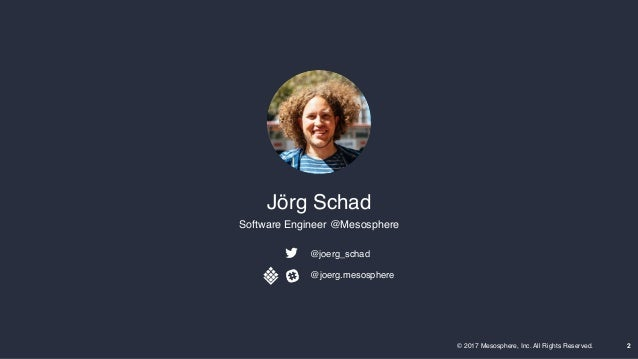 Smack Stack and Beyond—Building Fast Data Pipelines with Jorg Schad Slide 2
