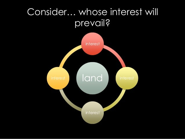 legal or equitable interest