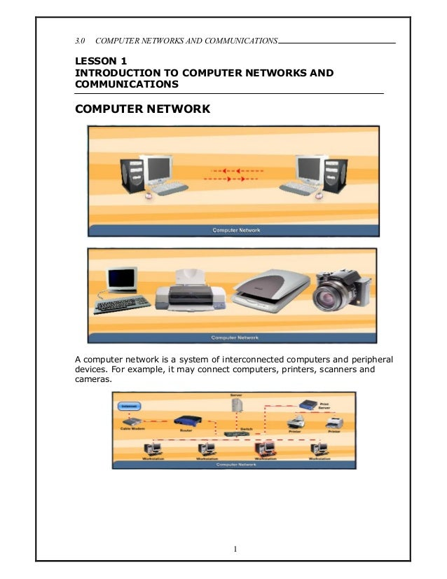 3.0   COMPUTER NETWORKS AND COMMUNICATIONS                                                                            .LES...