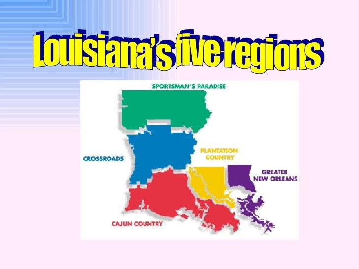 La 5 Regions