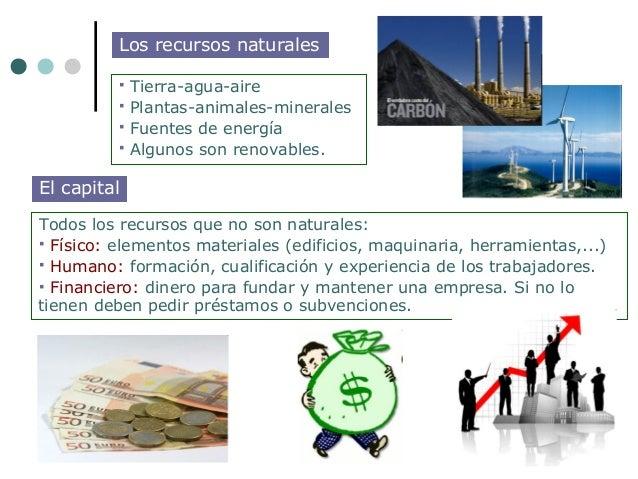 Los recursos naturales             Tierra-agua-aire             Plantas-animales-minerales             Fuentes de energ...