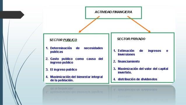 Teoría sobre la actividad financiera: 1. Carácter político. La actividad financiera se halla investida de un carácter polí...