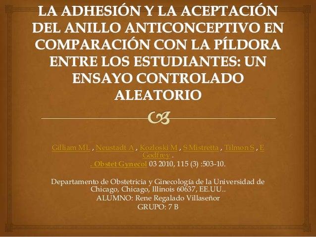 Gilliam ML , Neustadt A , Kozloski M , S Mistretta , Tilmon S , E Godfrey . . Obstet Gynecol 03 2010, 115 (3) :503-10. Dep...