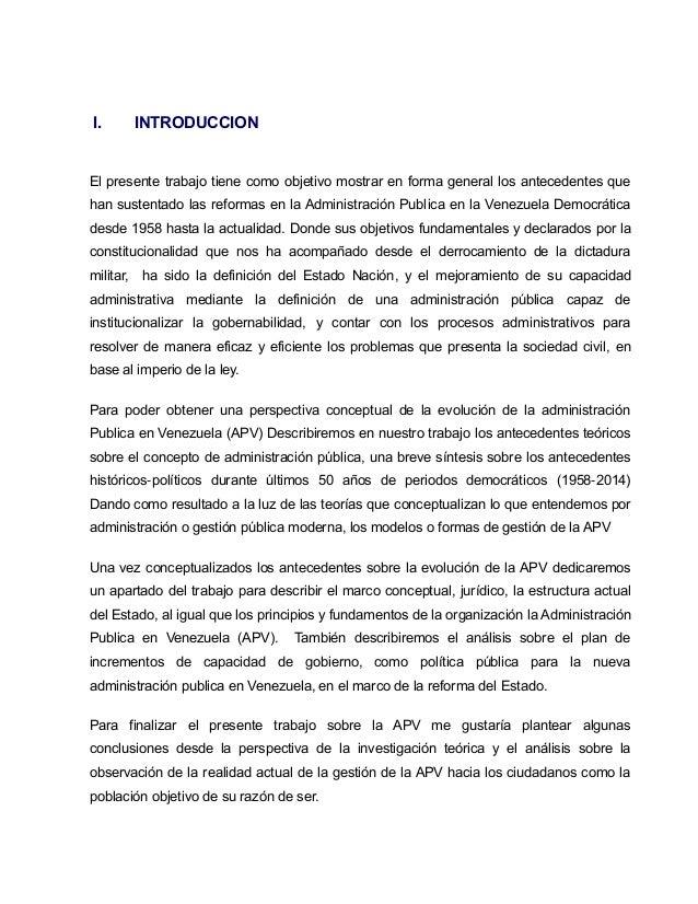 La administraci n p blica venezolana su dimension modelo for Que es una oficina publica