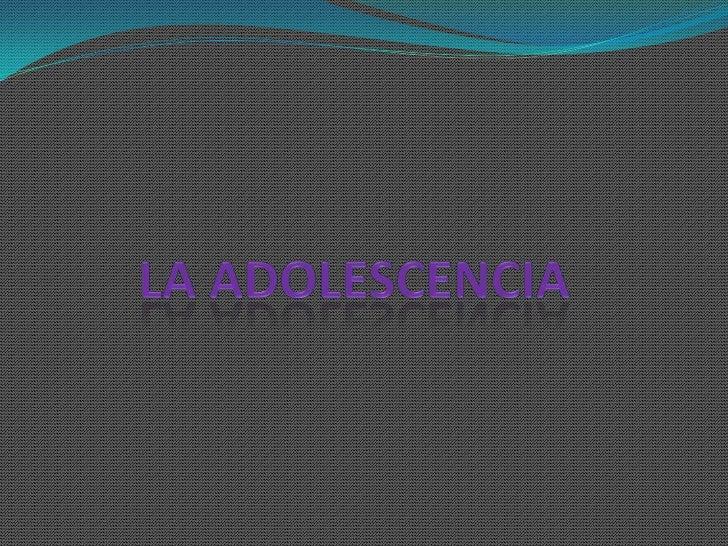  La adolescencia es ese estado en el que uno puede sentirse en limbo, porque ya no se es niño/niña, pero tampoco se es ad...