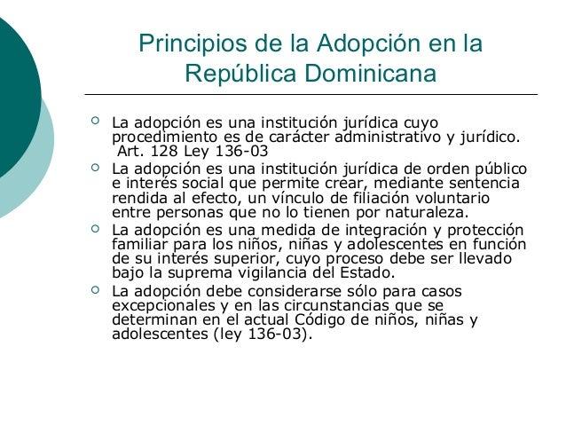 Ley 136-03 republica dominicana