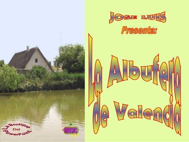 Municipios comprendidos Los municipios, y pedanías, que comprende el Parque Natural de la Albufera de Valencia pertenecen ...