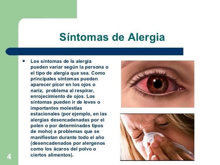 Alergia en los ojos y nariz