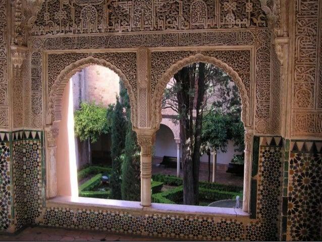 La Alhambra. Palacio de Carlos V vs Patio de los leones