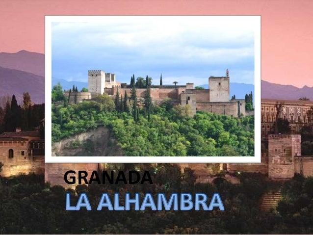 La alhambra de granada mar a moreno - El puerto de santa maria granada ...