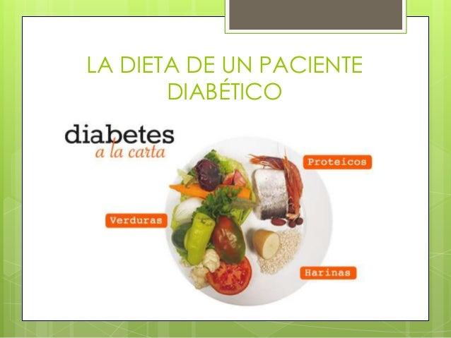 La alimentación en la diabetes