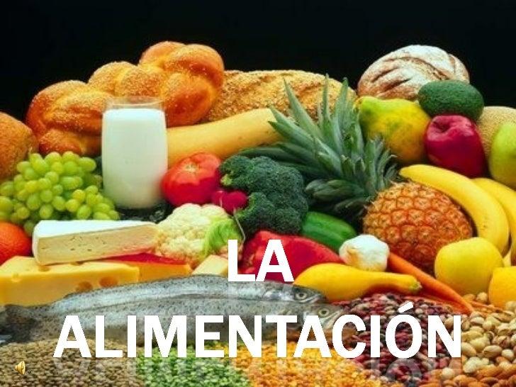 La nutrición es elproceso a través delcual el organismoabsorbe y asimila lassubstanciasnecesarias para elfuncionamiento de...