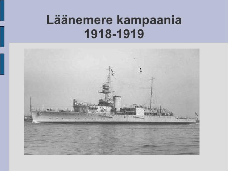 Läänemere kampaania 1918-1919