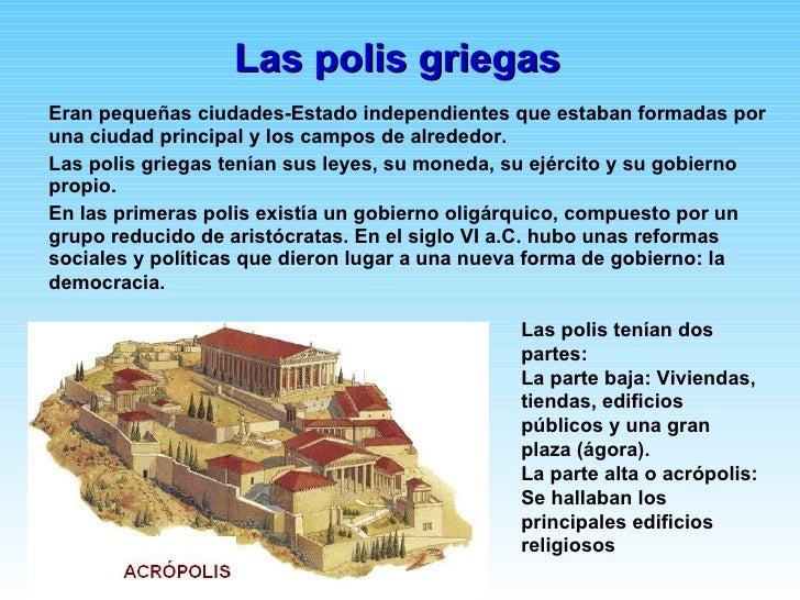La antigua grecia Como eran las casas griegas