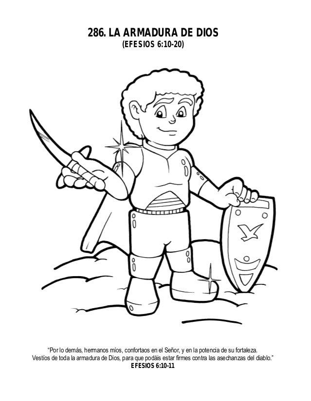 La Armadura De Dios Para Niños | www.imagenesmy.com