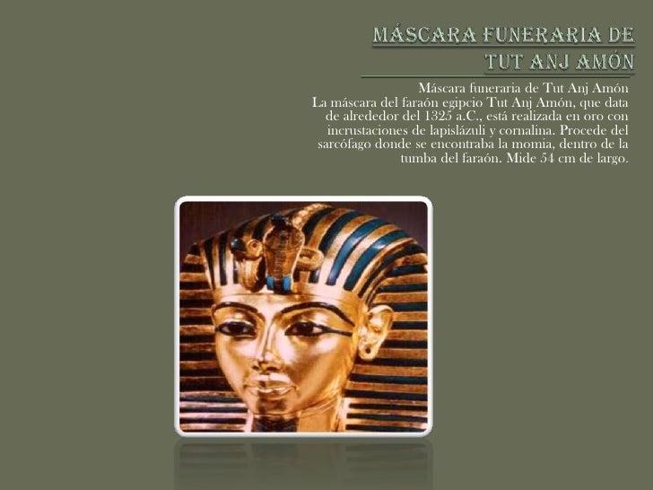 Máscara funeraria de TutAnj Amón <br />Máscara funeraria de TutAnj Amón <br />La máscara del faraón egipcio TutAnj Amón, q...