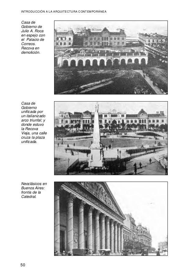 La arquitectura contemporanea for Arquitectura contemporanea