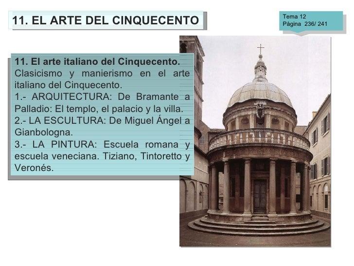 Arquitectura Quattrocento Y Cinquecento Of Renacimiento Arquitectura